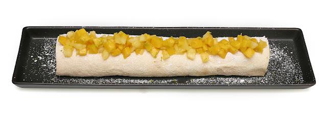 Pavlova aux fruits exotiques de Christophe Michalak