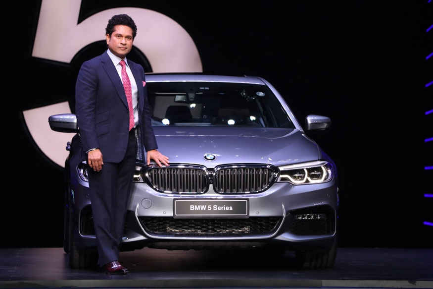 Master Blaster Sachin Tendulkar at The Launch of BMW 5 Series In Mumbai
