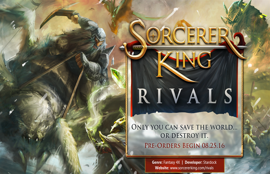 Sorcerer King Rivals Free Download Poster