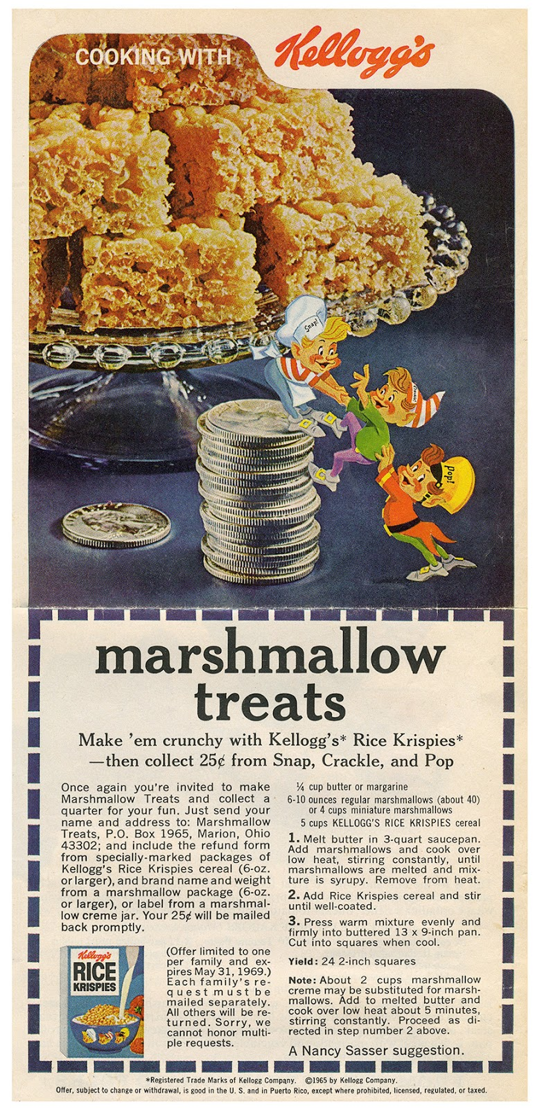 Kellogg's Rice Krispies - 1965