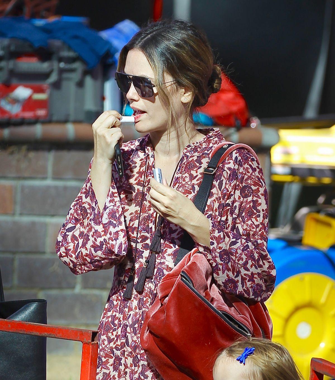 Rachel Bilson at Farmer's Market in Studio City