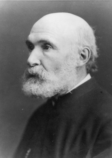 Photograph of The Rev A S Latter, vicar 1864-1880