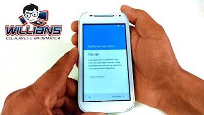 Desbloqueio Google Moto E2 XT1506, XT1514, XT1523, XT1524, Desbloquear, Restaurar
