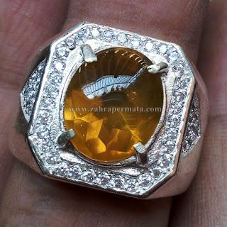 Cincin Batu Fire Opal Wonogiri - ZP 677