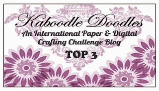 30-07-2013 in de top 3 bij Kaboodle Doodles