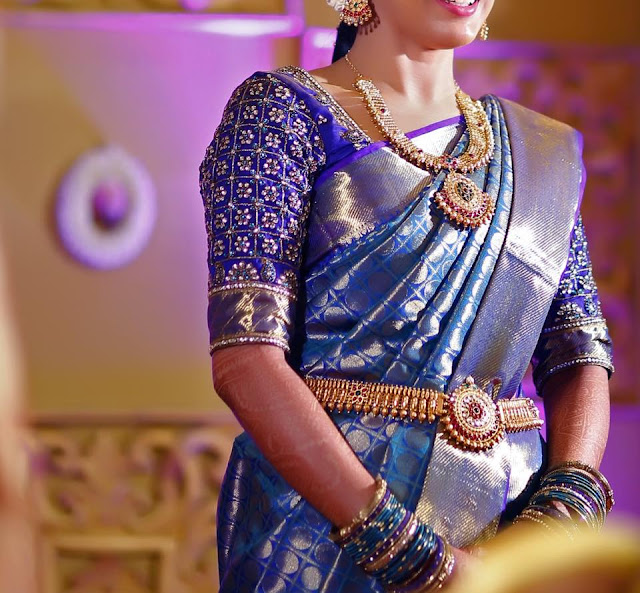 Amazing Wedding Saree Blouse Designs Patterns Sparkling Fashion