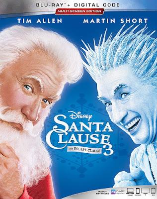 The Santa Clause 3 Bluray