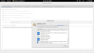 Updating cache