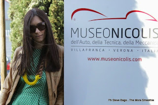 themorasmoothie, fashion, fashionblog, fashionblogger, italianfashionblogger, blogger, blogger italiana, fashion blogger italiana, museo nicolis, verona legend cars, silvia nicolis, gazel, dress, necklace, jacket, bershka, outfit, look, street style, style, shopping, shopping on line, paola buonacara