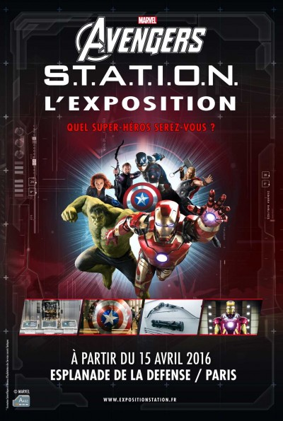 Exposition Marvel Paris 2016 Avis : exposition, marvel, paris, Bruno's, Avril