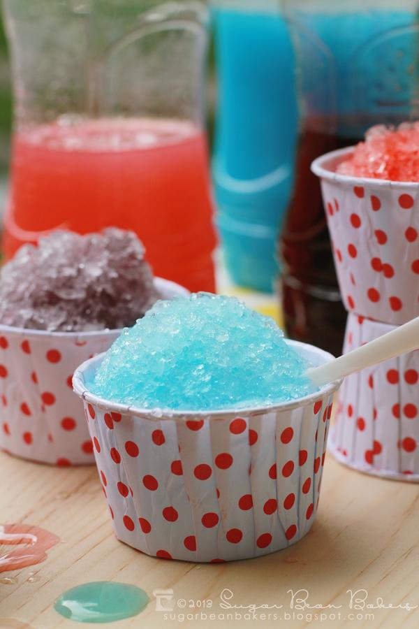Sugar Bean Bakers Homemade Snow Cone Syrup-5351