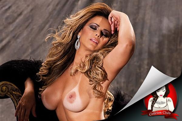 Anitta nua na Revista Playboy