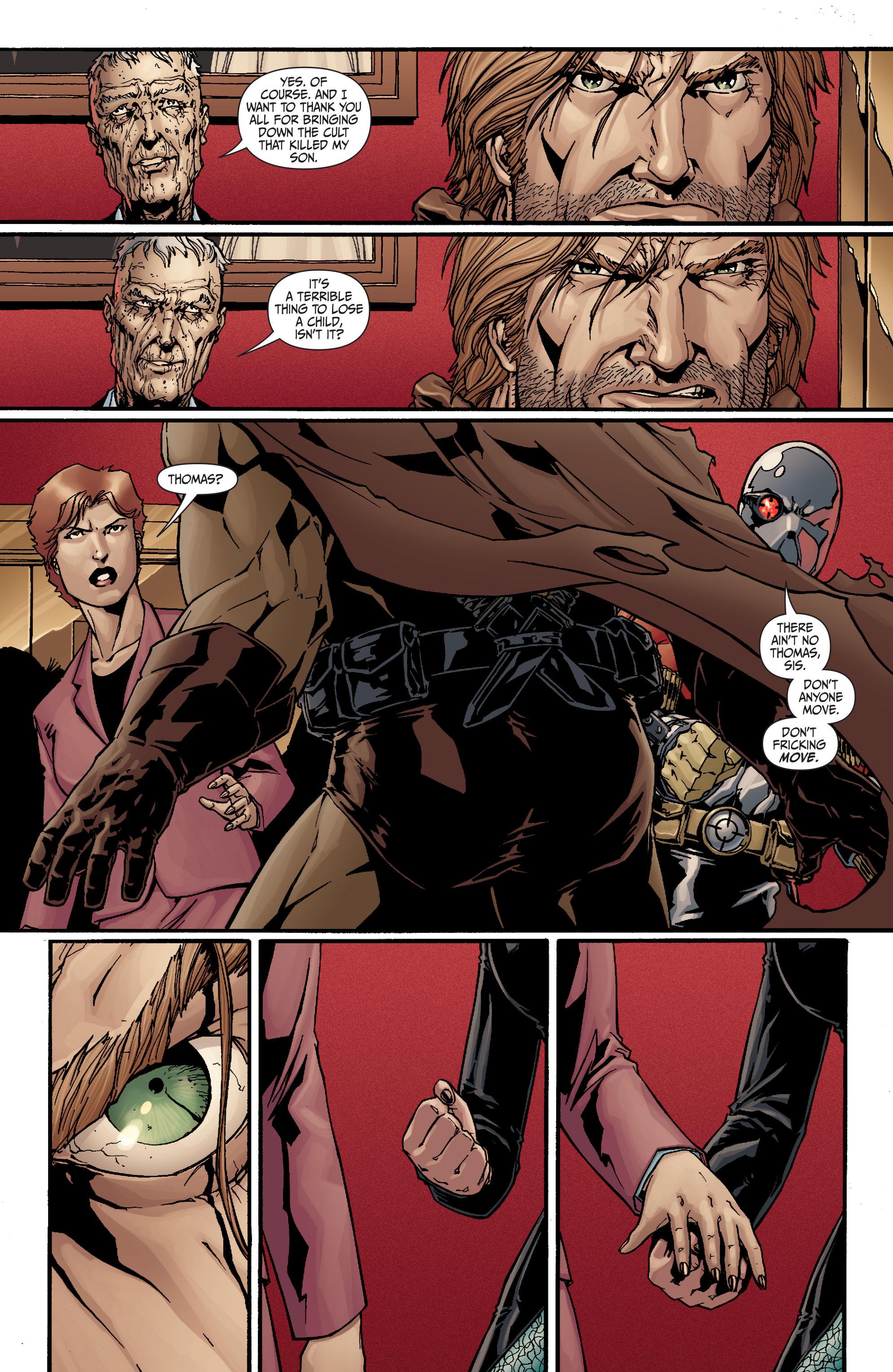 Read online Secret Six (2008) comic -  Issue #20 - 5