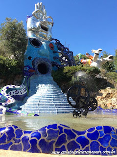 jardim dos taros fonte tinguely - Jardim do Tarô de Niki de Saint-Phalle