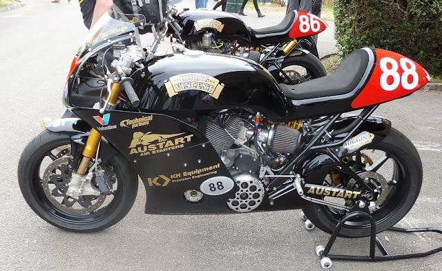 Irving Vincent Motorcycle Daytona