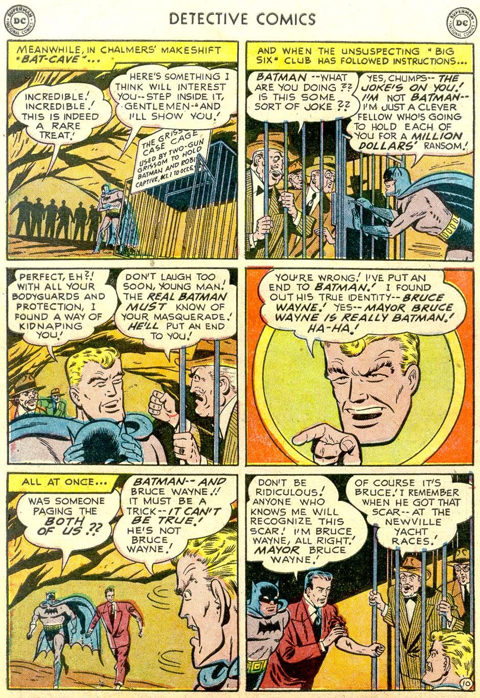 Read online Detective Comics (1937) comic -  Issue #179 - 12