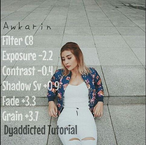 Aplikasi Dan Cara Edit Foto Instagram Ala Ala Selebgram Awkarin