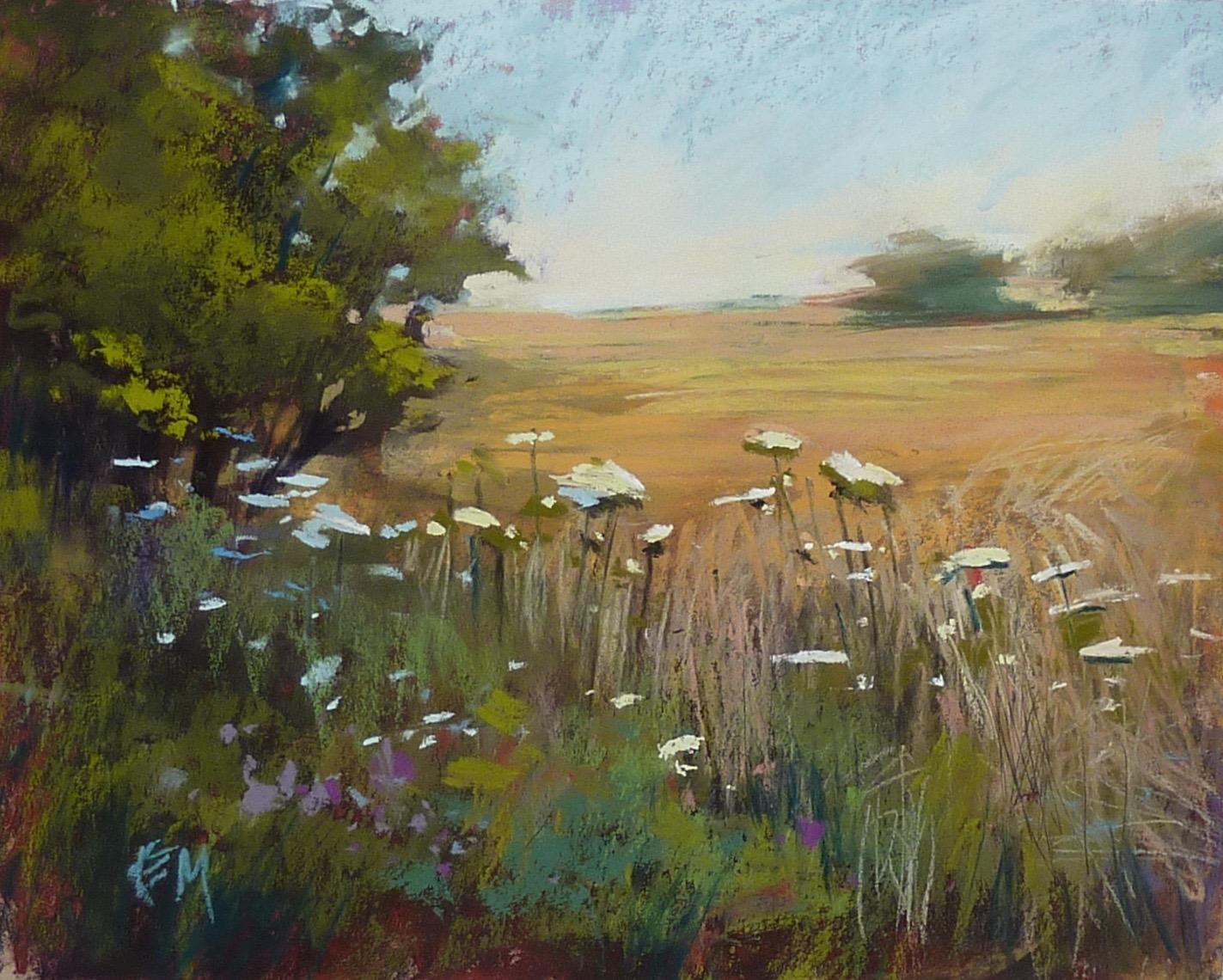 Grass Painting Acrylic