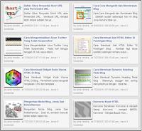 Cara Membuat Dua Kolom Postingan Di Beranda Blog