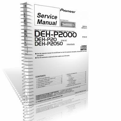 Pioneer Deh P2000 Manual