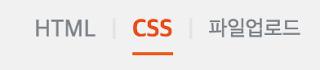 HTML/CSS 편집