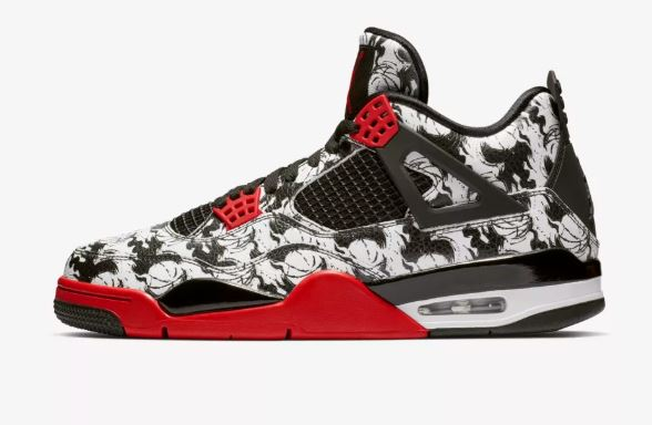 The Sneaker Addict Air Jordan 4 Tattoo Retro Sneaker Images