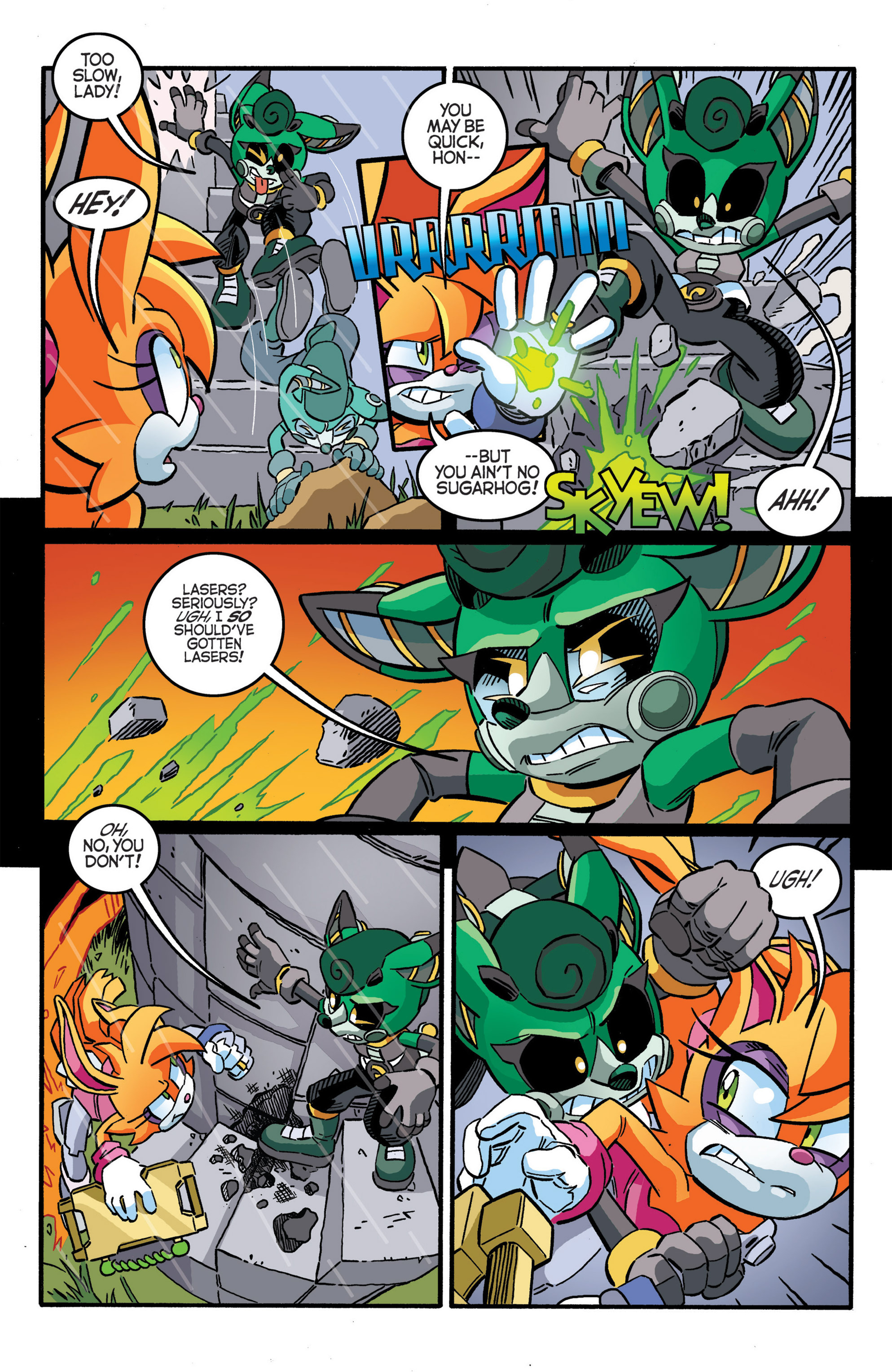 Read online Sonic The Hedgehog comic -  Issue #277 - 21