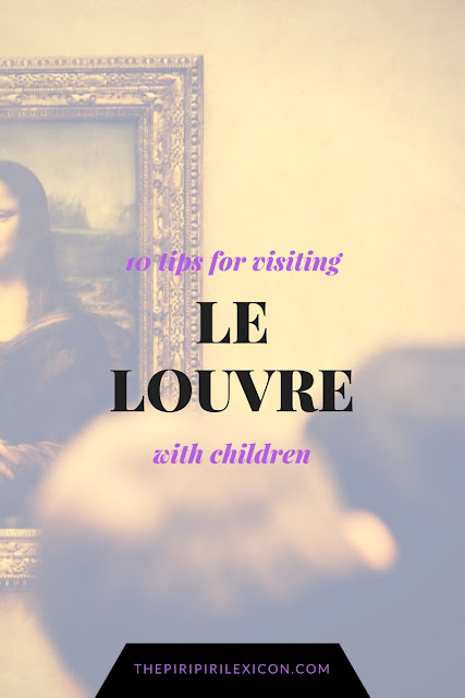 Le Louvre with kids