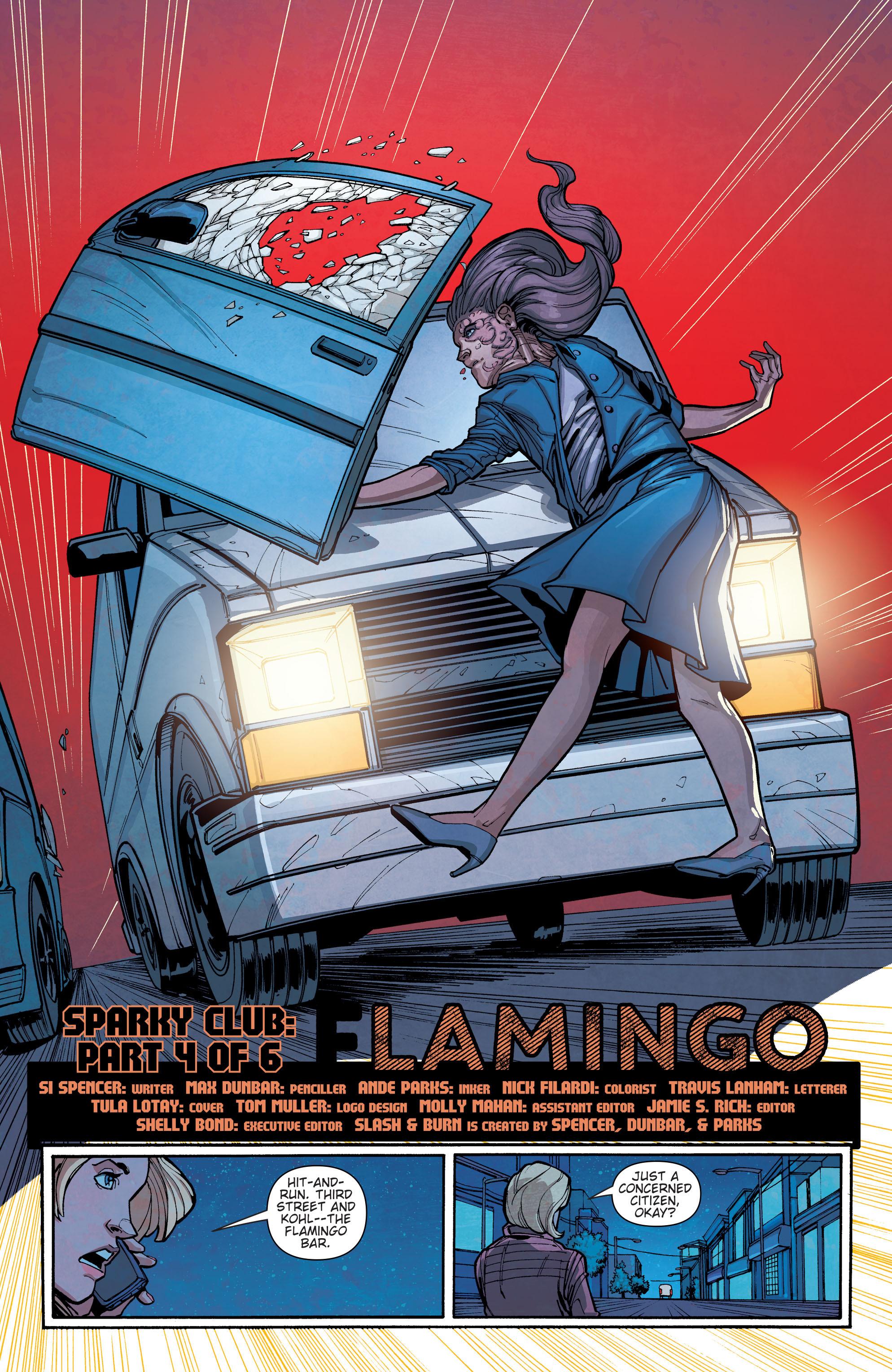 Read online Slash & Burn comic -  Issue #4 - 3