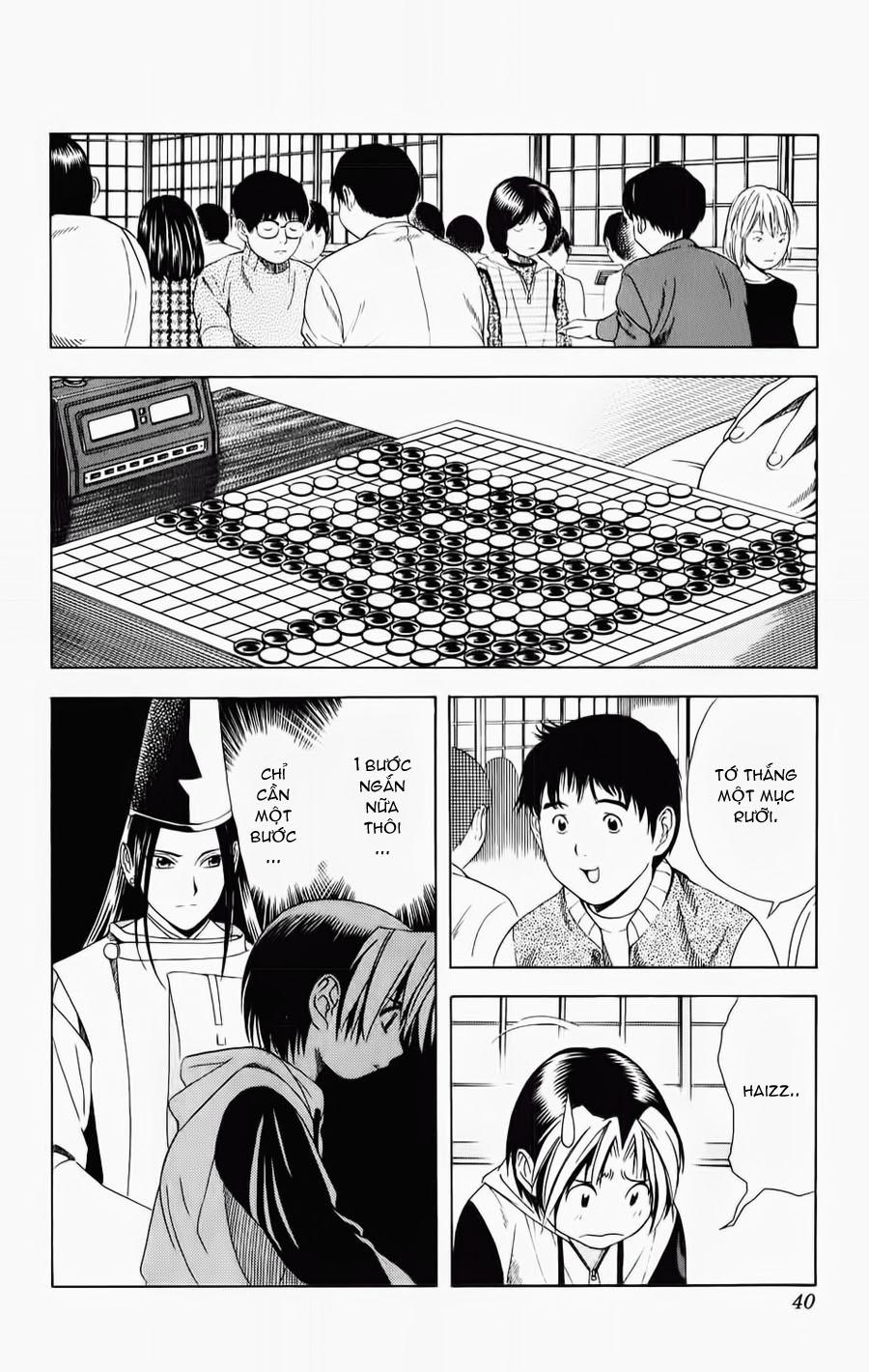 Hikaru No Go hikaru no go chap 53 trang 13