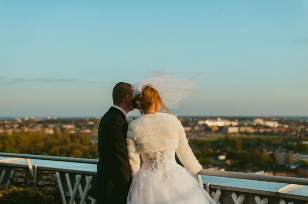 fotograf Lublin, Victoria, widok na Lublin, sesja na dachu Lublin, plener ślubny