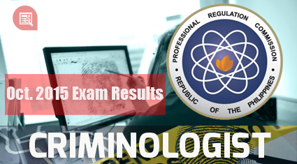 32d4fa35351f4a The successful examinees who garnered the ten (10) highest places in the  October 2015 Criminologist Licensure Examination are the following: