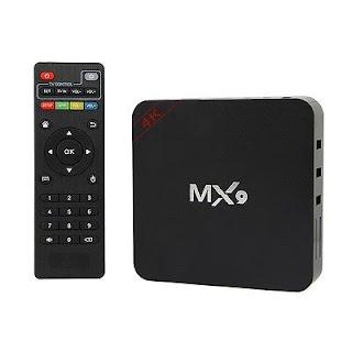 smart tv box mx9