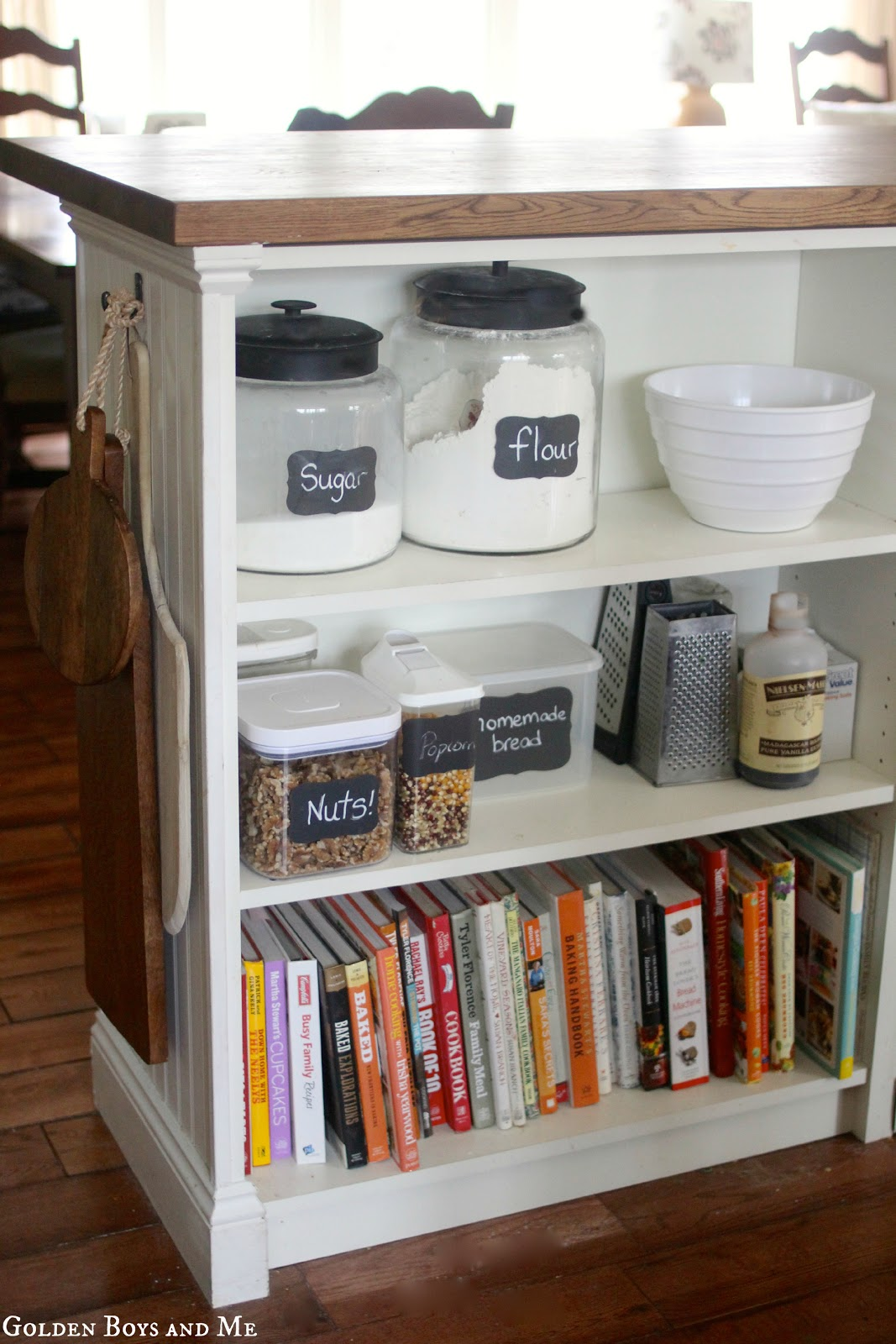 Golden Boys And Me Kitchen Island {ikea Hack}
