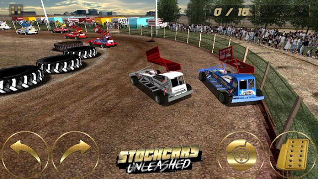 تحميل لعبة Stockcars Unleashed  مدفوعة كاملة للاندرويد