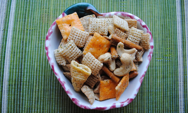 Sweet and salty, this Ranch Chex Mix is loaded with goodies!