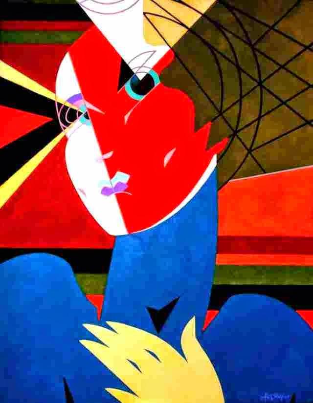 Перуанский художник. Alex Salas Machuca