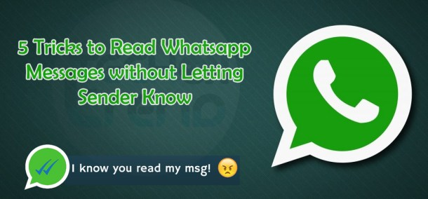 How to read WhatsApp messages without opening 2018