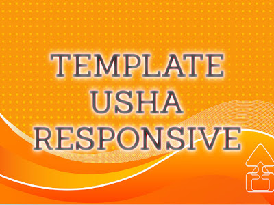 Template Terbaru 2017 Usha Simple Blogger Seo Responsive Download Gratis