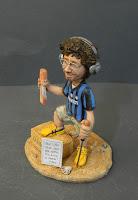 statuina dj cuffie torrone maglia inter regalo marito calcio orme magiche