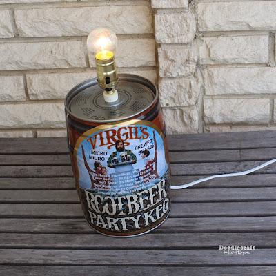 http://www.doodlecraftblog.com/2015/08/root-beer-keg-lamp.html