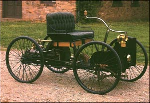 First Vehicle With Internal Combustion Engine