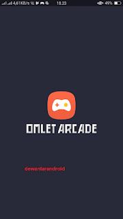 Tampilan Awal Omlet Arcade