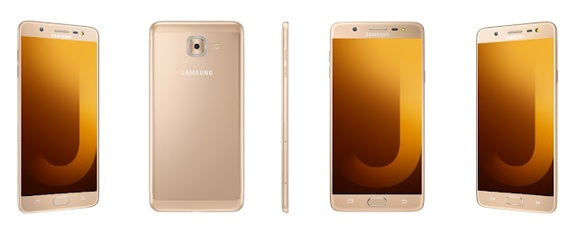 Finally is the Galaxy J7 Max, it'll ship with larger 5.7-inch Full HD display with latest Android Nougat OS. For its power, it has a Mediatek chip instead on the company's own Exynos chip. It has a Mediatek Helio P20 processor with larger 4GB of RAM, and a lesser 32GB of expandable storage via microSD.