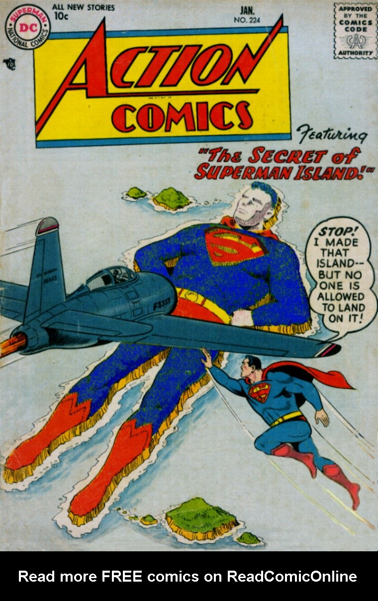Read online Action Comics (1938) comic -  Issue #224 - 1