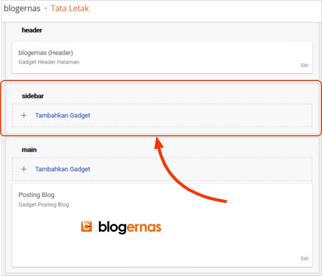 Cara Membuat Sidebar Template Blog dari Awal