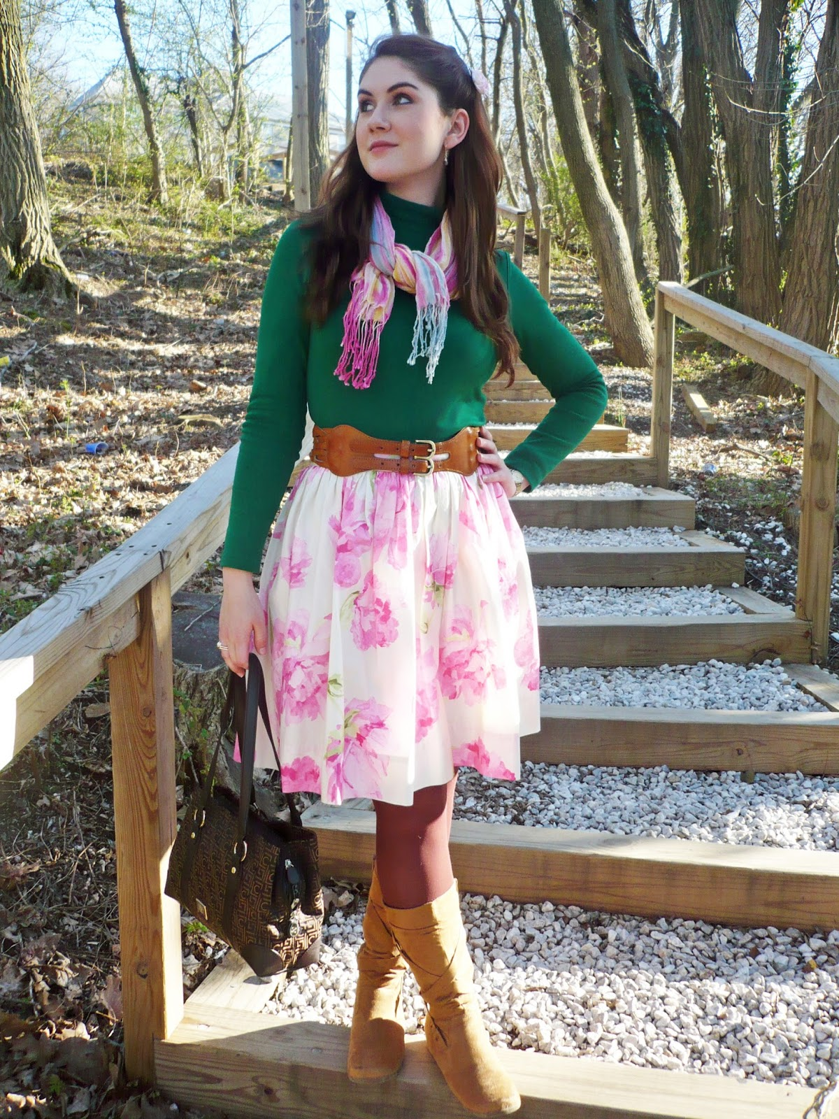 Colorful Fall Outfit