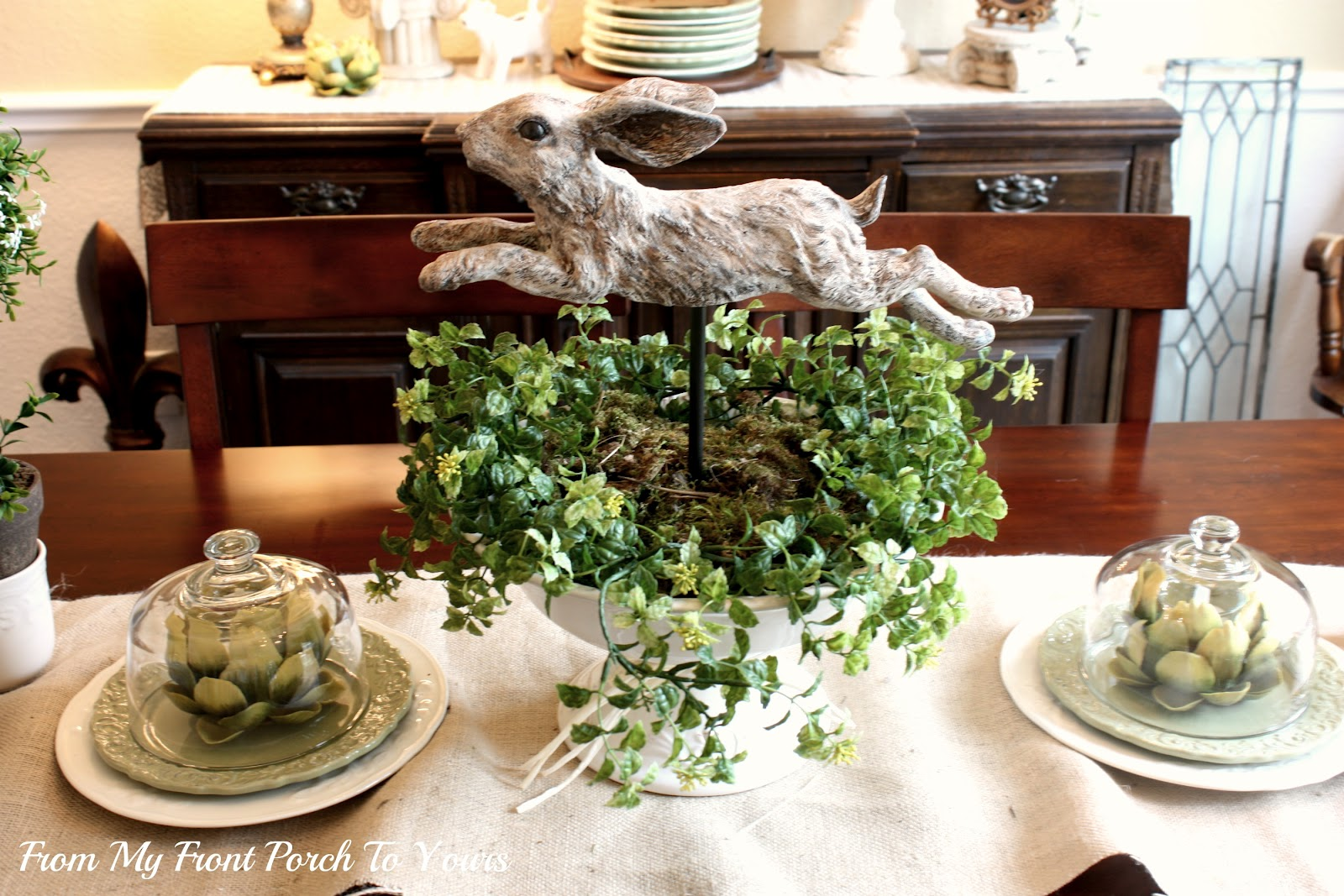 From My Front Porch To Yours: Spring Dining Room
