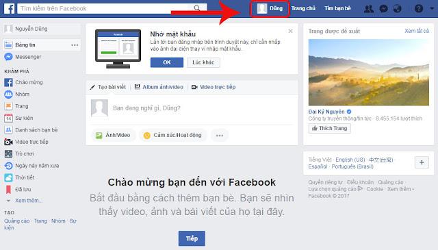 cách chơi facebook cho người mới