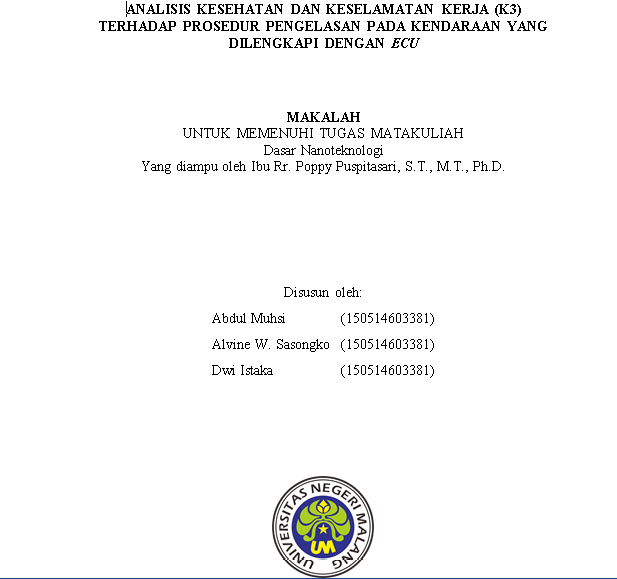 Makalah Sesuai Dengan Ppki Universitas Negeri Malang